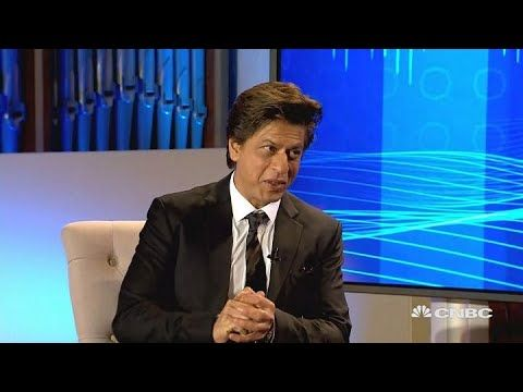 Bollywood star Shah Rukh Khan: I'm 'greedy' for awards | World Economic ...