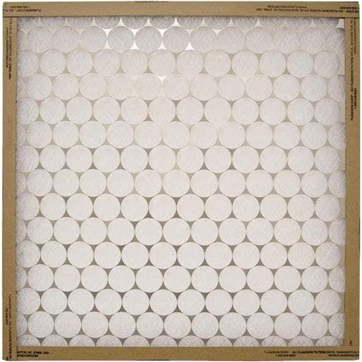 Flanders 20X25 Furnace Filter 10255.012025 Unit: Each Contains 12 per case, Grey metal