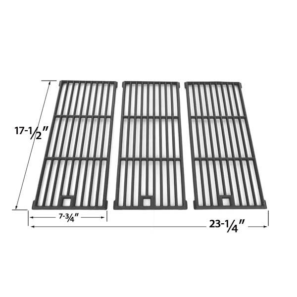 3 PACK CAST IRON COOKING GRID REPLACEMENT FOR AMANA AM26LP, AM27LP, AM30LP-P, AM33, AM33LP-P, SUREFIRE SF278LP AND KENMORE 148.16656010 GAS GRILL MODELS  Fits Amana Models : AM26LP, AM27LP, AM30LP-P, AM33, AM33LP-P  BUY NOW @ http://grillrepairparts.com/shop/grill-parts/cast-iron-cooking-grid-replacement-for-amana-am26lp-am27lp-am30lp-p-am33-am33lp-p-surefire-sf278lp-and-kenmore-148-16656010-gas-grill-models-set-of-3/