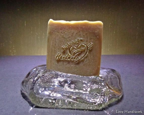 Unscented Bar Stout Beer Soap  All Natural by LoveHandyWork