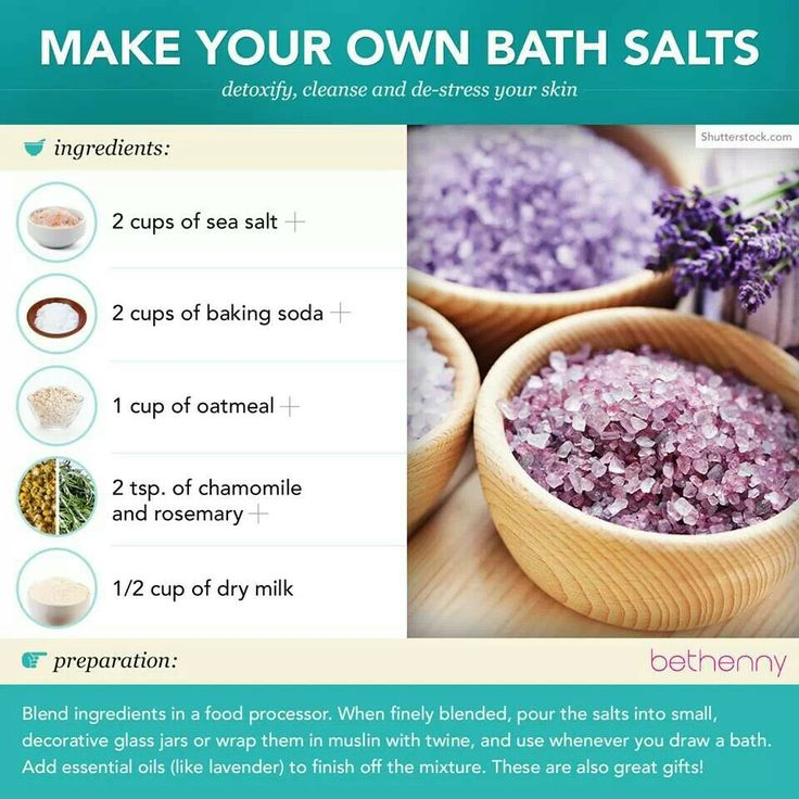Make your own bath salts nails are my business for Build your own bathroom