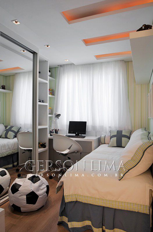 Quarto menino empreendimento Ideale Residencial / Ideale Residencial Boys Bedroom - 2