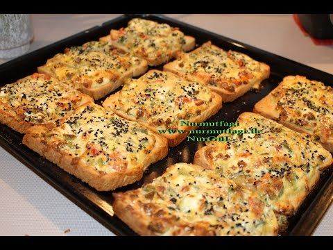 Kahvaltilik Yumurtali Peynirli Ekmek Dilimleri - YouTube