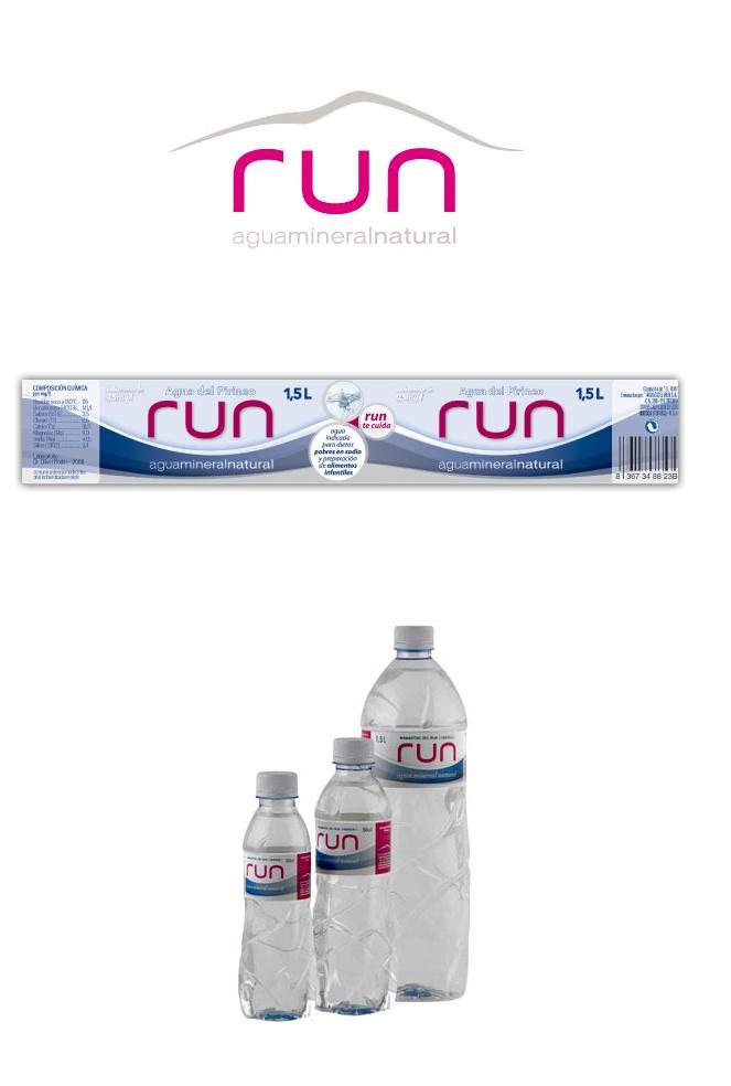 Packaging Agua Mineral RUN