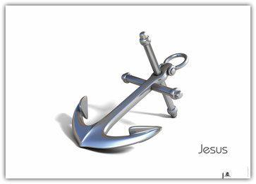 "Jesus. Anker des Lebens. Er macht halt!   ""Jesus # 1"" (Din-A1) Christliches Poster …   – Tattoos"