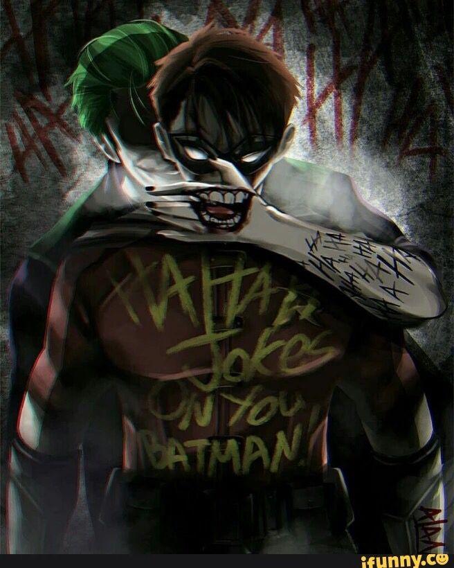 Joker kidnapping robin