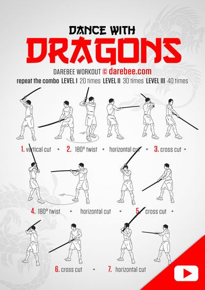 Dance with Dragons  Workout