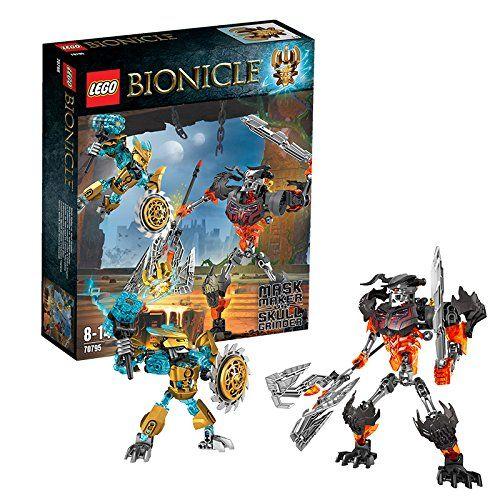 Sale Preis: Lego 70795 - Bionicle Maskenmacher vs. Totenkopf-Brecher. Gutscheine & Coole Geschenke für Frauen, Männer & Freunde. Kaufen auf http://coolegeschenkideen.de/lego-70795-bionicle-maskenmacher-vs-totenkopf-brecher  #Geschenke #Weihnachtsgeschenke #Geschenkideen #Geburtstagsgeschenk #Amazon