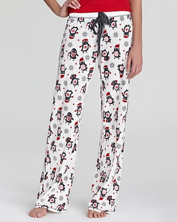 PJ Salvage Cozy Up Penguin Pants | Bloomingdale's