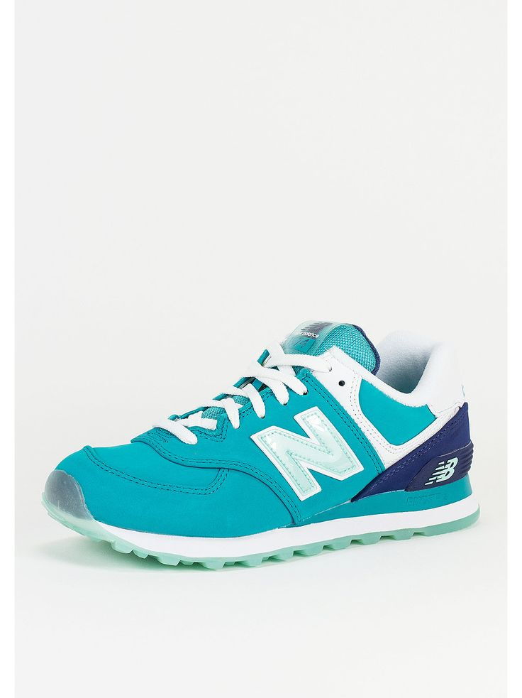New Balance Laufschuh WL 574 SLY teal