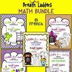 Échelles d'un souffle - MATH BUNDLE in French by La belle coccinelle | Teachers Pay Teachers