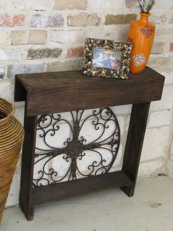 console table entry way table reclaimed by