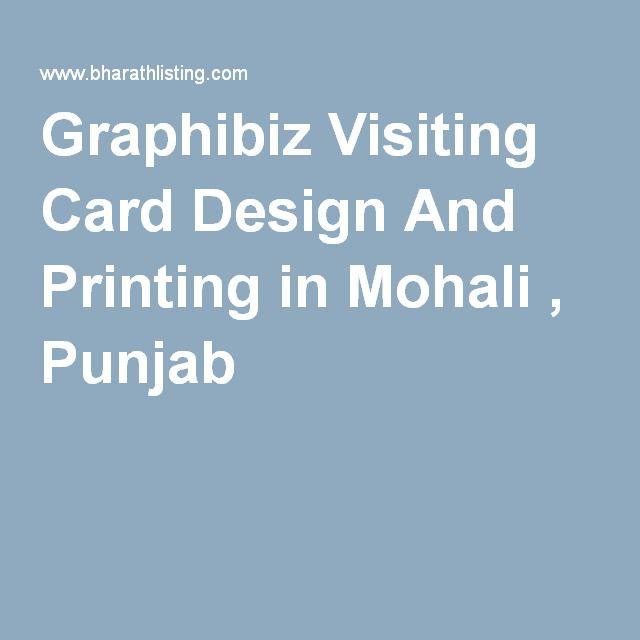 Graphibiz Visiting Card Design And Printing in Mohali , Punjab