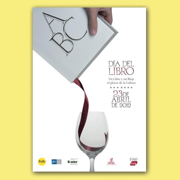 Book and wine's fair poster  Frän Alðnssön 2012