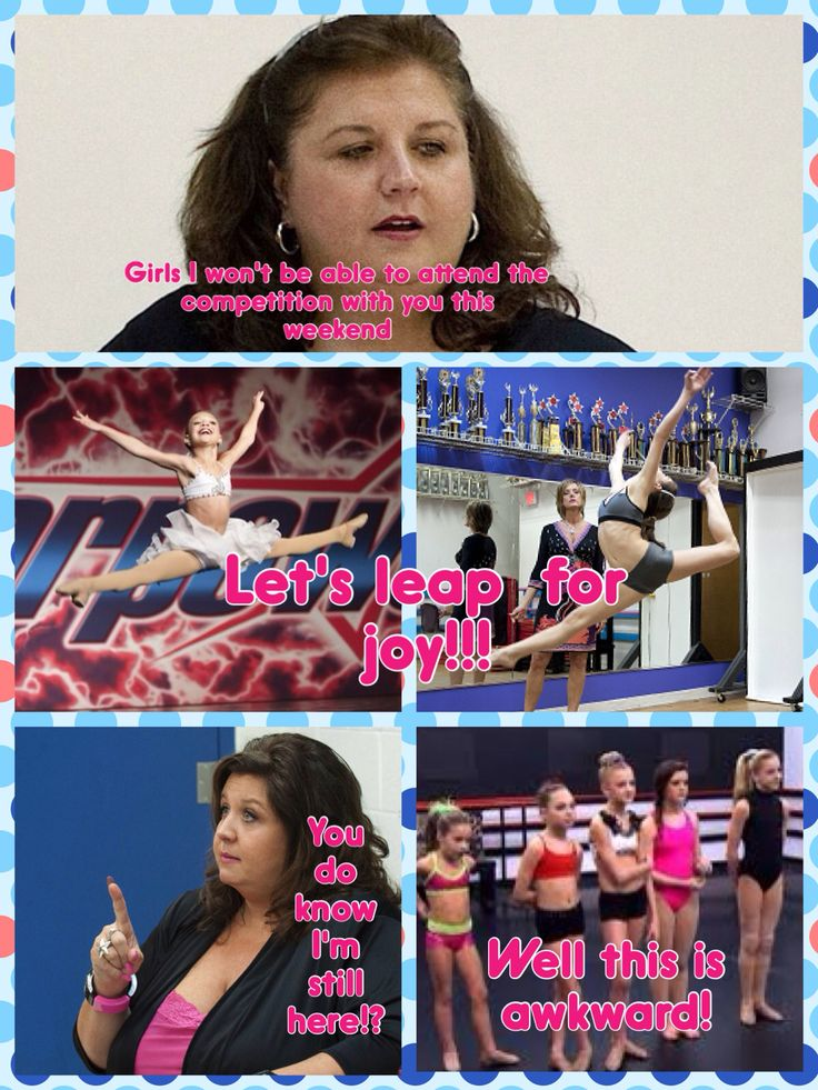 Another dance moms comic made by @ Anja Enervold