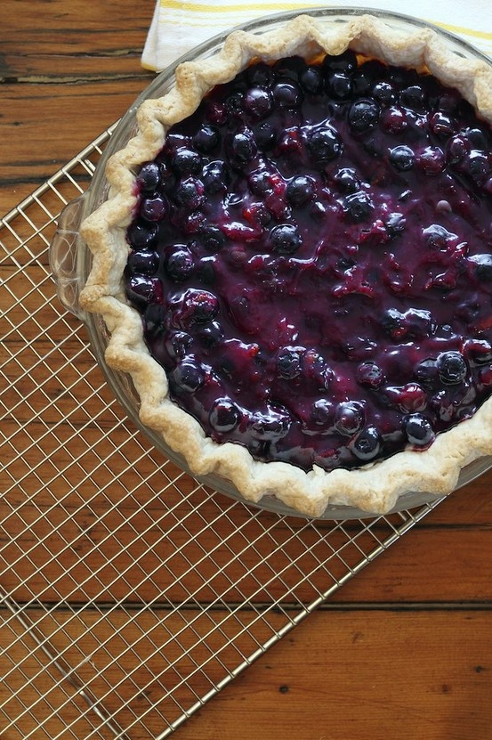 Who doesn't love blueberry pie? Here's a great recipe from Earlene Busch at Chanterelle Country Inn & Cottages.