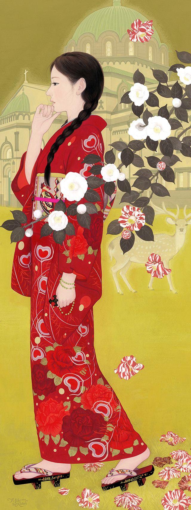 424 best 日本人イラストレーション - Ilustraciones japonesas images ...