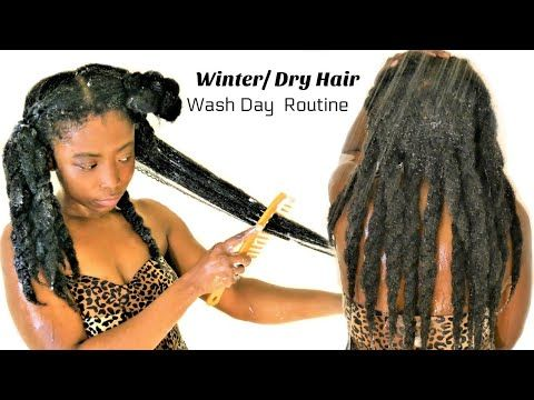 Intense Moisture Retention Wash Day Routine For Hair Growth   Wash ➡️ Style  Natural Hair [Video] - https://blackhairinformation.com/video-gallery/intense-moisture-retention-wash-day-routine-hair-growth-wash-%e2%9e%a1%ef%b8%8f-style-natural-hair-video/