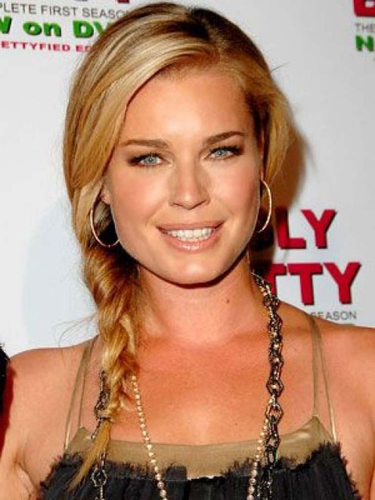 Rebecca Romijn. She is best known for her role as Mystique in the X-Men films and for her recurring role as Alexis Meade on the television series Ugly Betty.