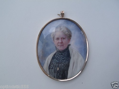 Self portrait of Fanny E. Hjelm, 1907