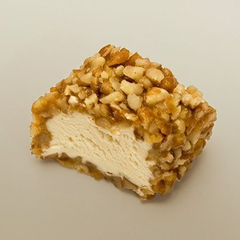 Pecan Log: tasty easy homemade candy recipe. I would add a bit of vanilla to the recipe. Also, you can coat the log with a caramel before you coat in nuts.