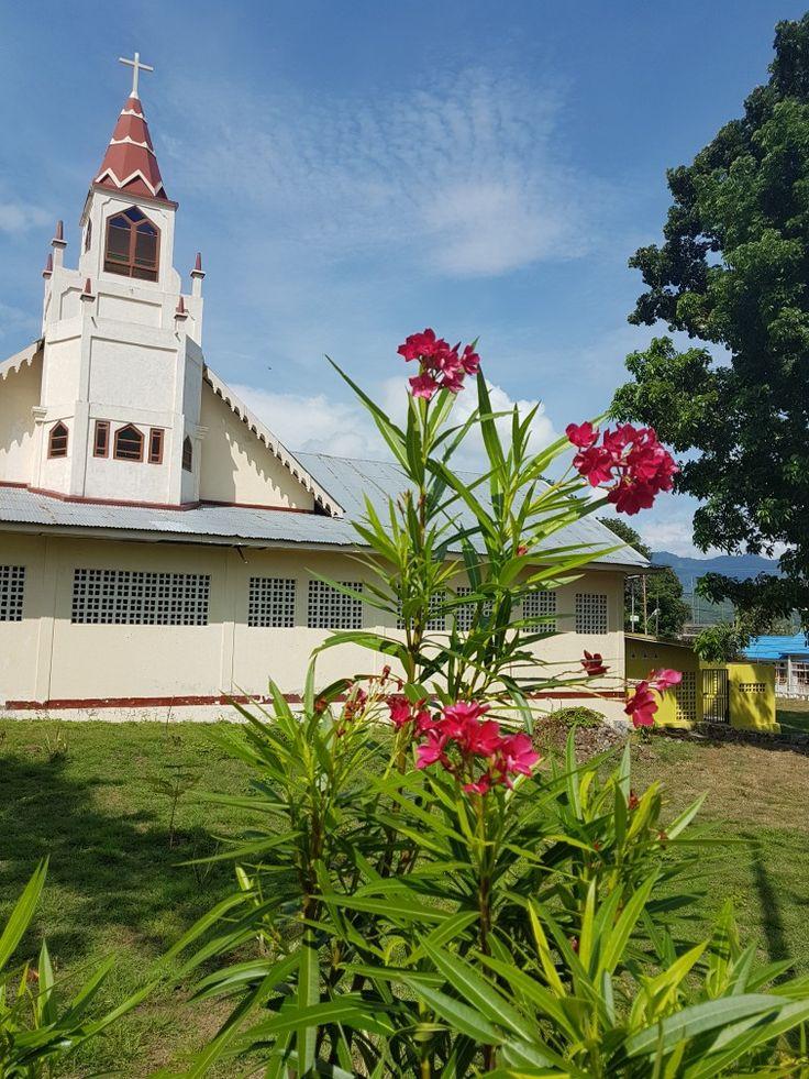 Cathedral Larantuka, East Nusa Tenggara, Indonesia