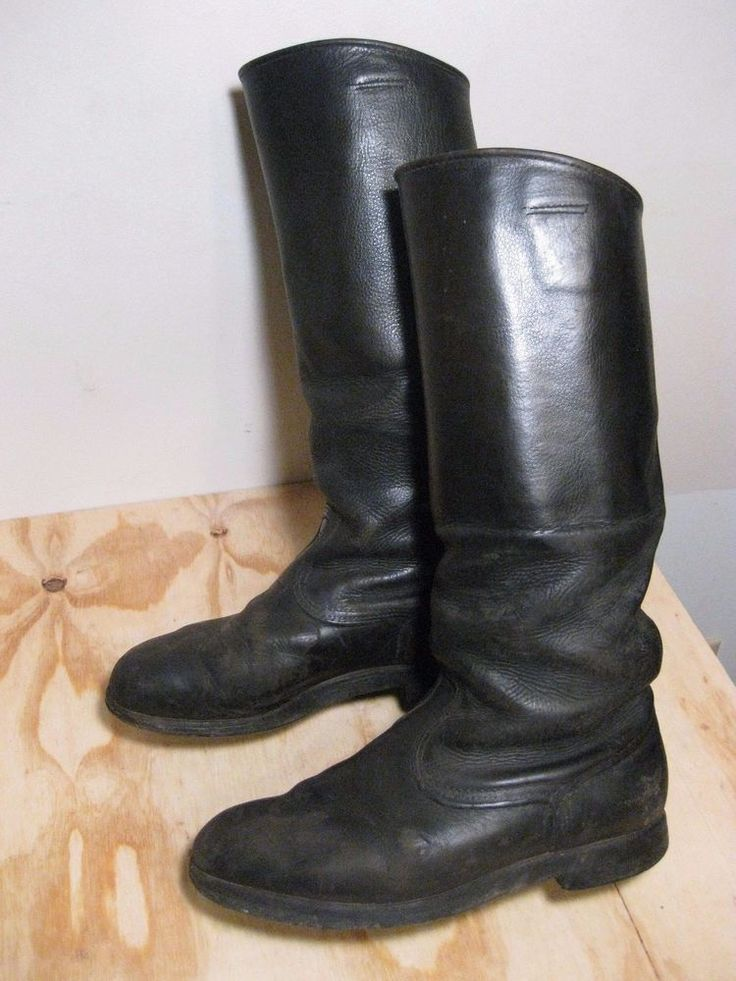 WW2 German Wehrmacht - Military leather boots