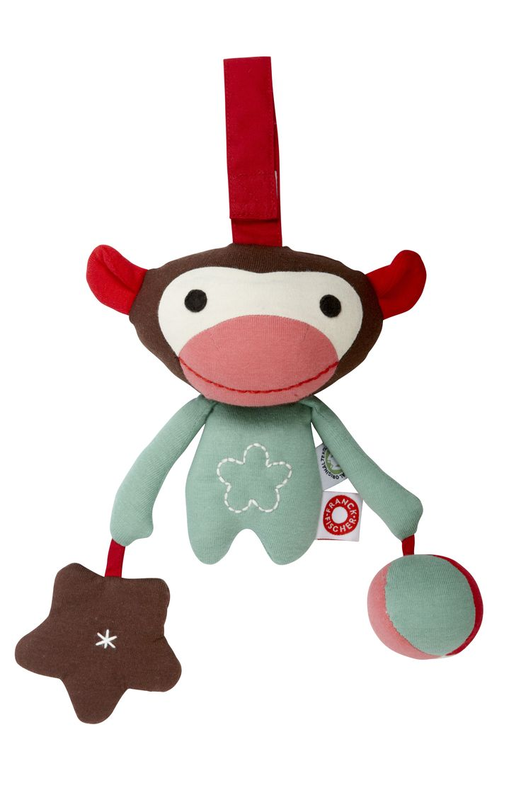Organic Cotton Monkey Sensory by Franck & Fischer