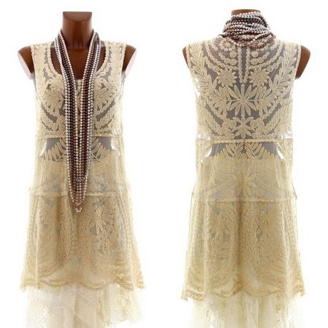 Robe hippie chic brodee
