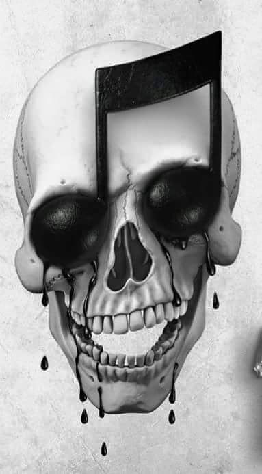 ~ † A Music Skull Illusion ~