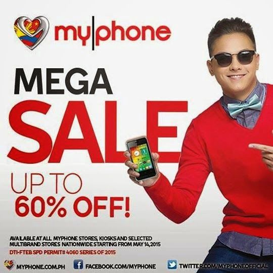Pinoy Metro Geek: MyPhone RIO smartphones Nationwide SALE on May 14 to 16: up to 60 percent OFF | Nationwide. Rio. Sale
