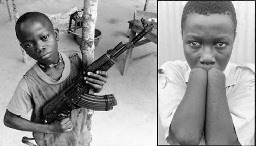 Children were disproportionately affected by the Sierra Leonean civil war. War crimes such as maiming