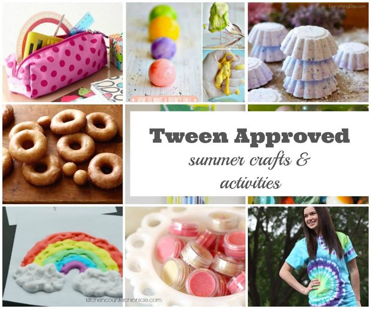 Not sure what to do with the tweens this summer? Check out this list summer crafts and activities for tweens. Totally tween approved!