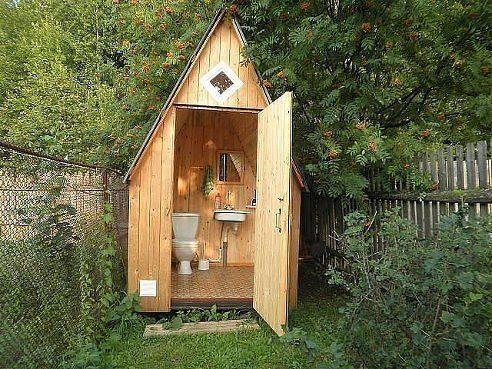 Идеальный дачный туалет)))   Еще больше интересных тем в нашей группе В КОНТАКТЕ…