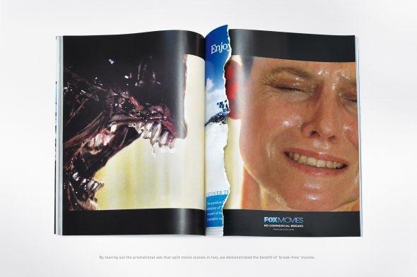 FOX movies ad repinned by www.BlickeDeeler.de