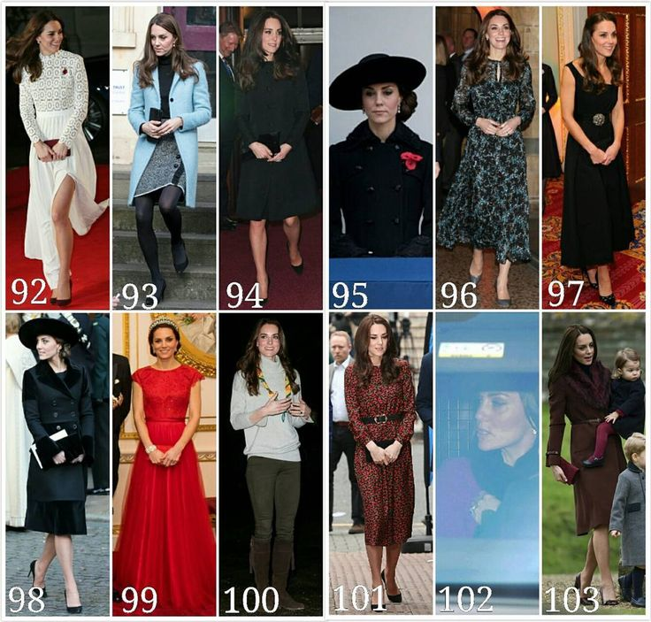 2016 in Review :: All of Catherine's looks in November and December (continuation of my older posts) :: 92. 3 Nov -Catherine attended 'A Street Cat Named Bob ' film premiere. Kate wore a Self Potrait dress. 93. 4 Nov - She visited Eastwood Park Prison in Gloucester to learn what support is available to women prisoners and their families with complex needs. Kate wore a Mulberry coat. 94. 12 Nov - Catherine attended the Festival of Remembrance. Kate wore Temperley London coat. 95. 13 Nov…