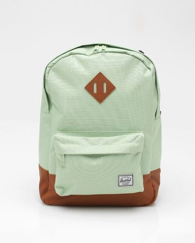 A mint backpack! It makes me want to go hiking and wear florals at the same time.