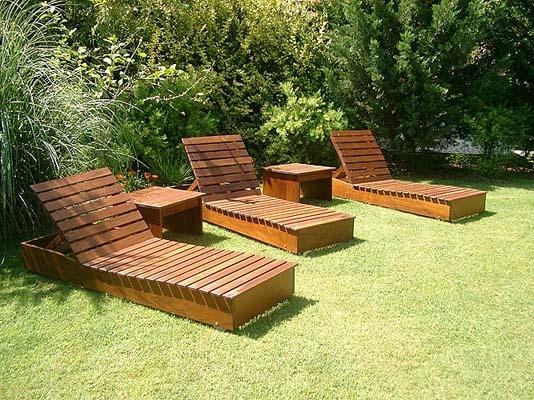 12 mejores im genes sobre muebles de madera en pinterest - Muebles de jardin con palets ...
