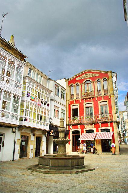 Spain, Galicia, Lugo, Viveiro
