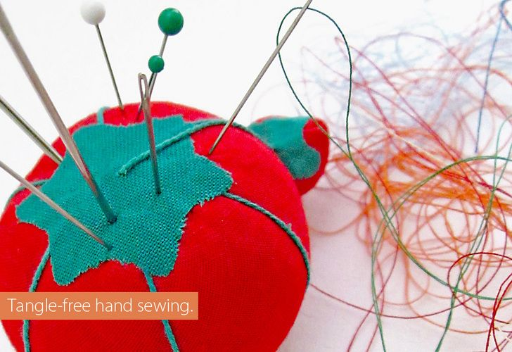 Quick Tip: How To Prevent Thread Tangles in Hand Sewing   Sew4Home
