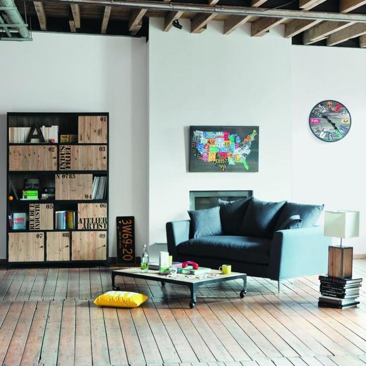Les 34 meilleures images du tableau Ted shelving and desks sur - Meuble Bibliotheque Maison Du Monde