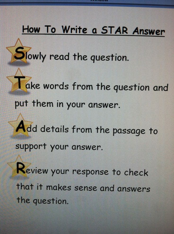 I created this to help my students with writing answers to constructed response questions. Click photo for word file.   School   Constructed ...