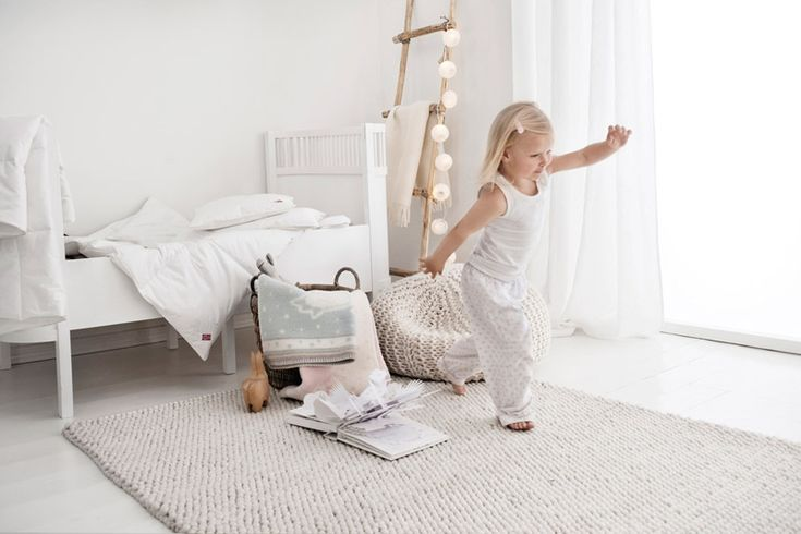 So many houses in NZ house magazines seem to have an all-white interior until you hit the kids rooms where the parents appear to panic. Embrace all-white for the whole family