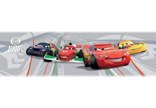 Wandtattoo Wandsticker Bordüre Disney Cars