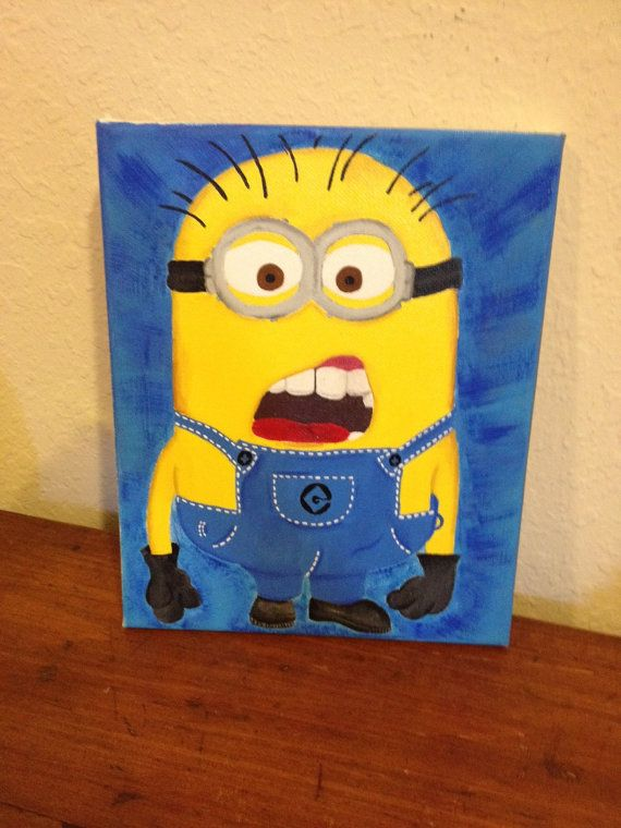 Despicable Me Minion on Etsy, $18.00