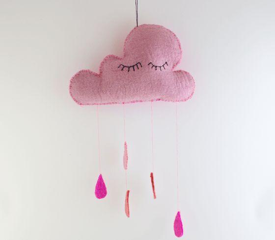 DIY - Cloud in felt