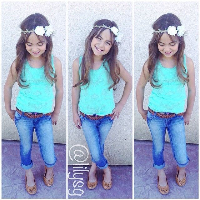 Kid Spring/Summer Fashion-Little Girl Outfits