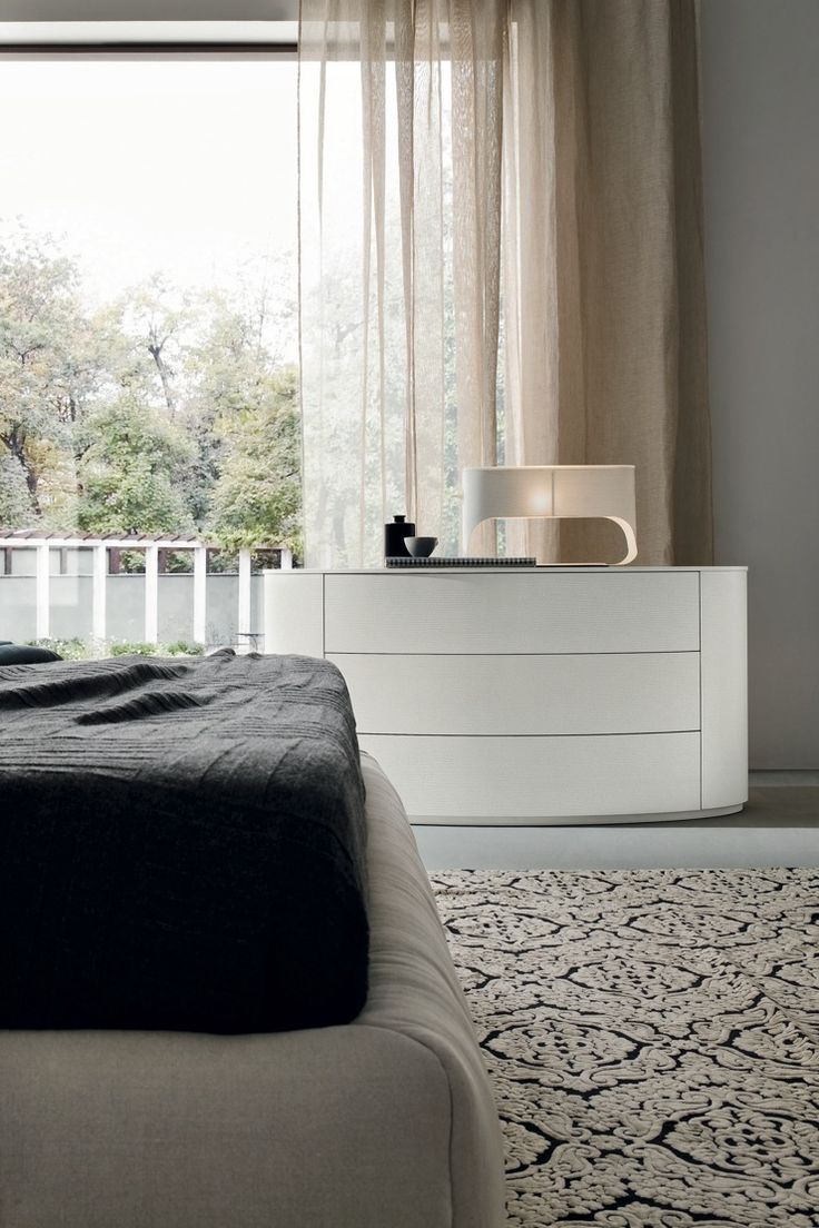 Dall'Agnese Christal Oval Chest of Drawers   London delivery   Robinsons Beds