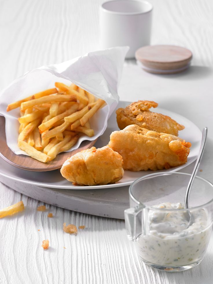 Fish and Chips with Tatar sauce