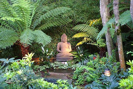 budda in garden | ... is my meditation area that i spoke of isn t the buddha wonderful
